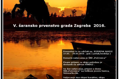 V. šaransko prvenstvo grada Zagreba 2016