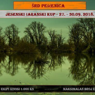Jesenski šaranski kup 2018